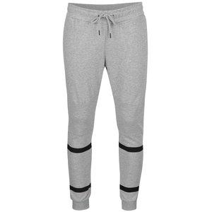 Pantaloni sport gri deschis Jack & Jones Dual din bumbac
