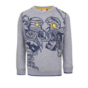 Bluză gri LEGO Wear cu print pentru băieți