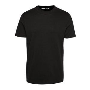 Tricou negru Jack & Jones High din bumbac