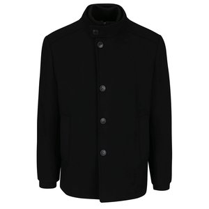 Palton negru Jack & Jones Joe cu aspect 2 în 1 la pretul de 629.99