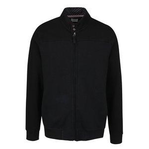 Bluză sport neagră cu fermoar Burton Menswear London