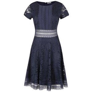 Rochie albastru închis din dantelă VILA North