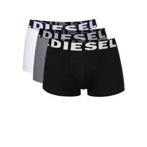 Set multicolor cu trei perechi de boxeri Diesel cu logo de la Zoot.ro