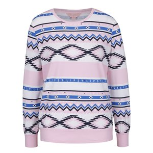 Bluză de pijama Lipsy roz cu model