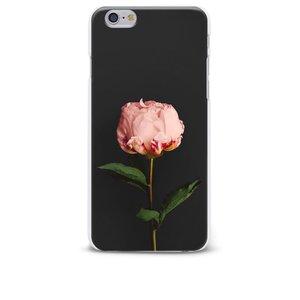Carcasă neagră pentru iPhone 6/6S Epico Rose cu imprimeu floral