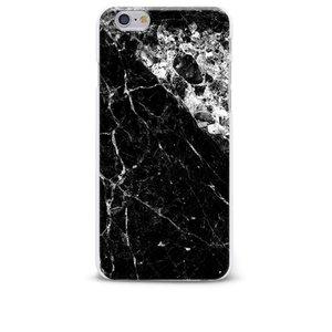 Carcasă neagră pentru iPhone 6/6S Epico Marble Black cu imprimeu marmură