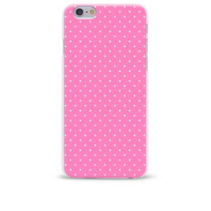 Carcasă roz pentru iPhone 6/6S Epico Dots pastel pink cu buline