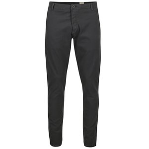Pantaloni chino gri Selected Homme Honeluca