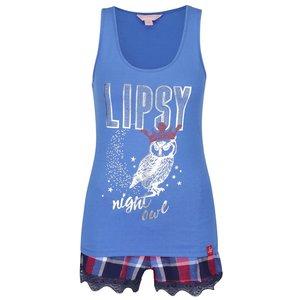 Pijama albastră Lipsy Night