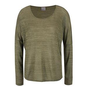 Bluză verde melanj Vero Moda Sebisanne