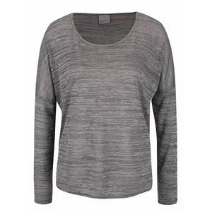 Bluză gri deschis melanj Vero Moda Sebisanne