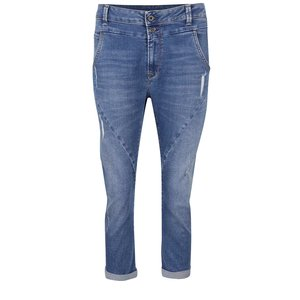 Jeanși trei sferturi albaștri Pepe Jeans Topsy