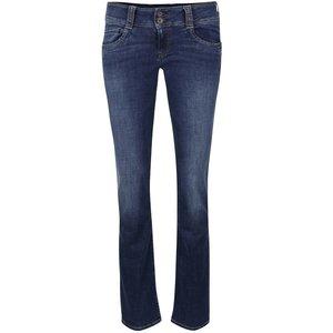 Jeanși albaștri cu aspect prespălat Pepe Jeans Gen