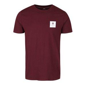 Tricou roșu burgundy Jack & Jones Radical din bumbac