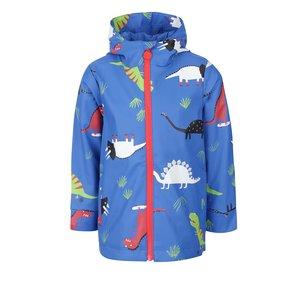 Jachetă albastră cu imprimeu cu dinozauri Tom Joule Skipper pentru băieți