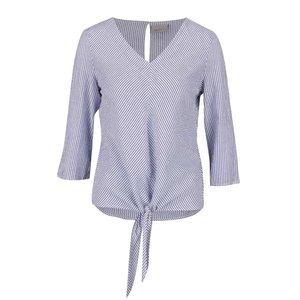 Bluză albastru cu model discret Vero Moda Saki