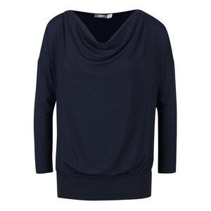 Bluză albastru închis ZOOT cu model petrecut