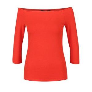 Bluză roșie cu umerii goi Dorothy Perkins