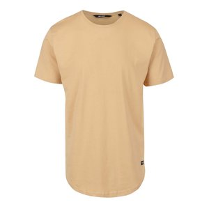 Tricou galben pal ONLY & SONS Matt din bumbac