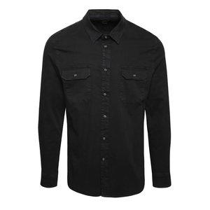 Cămașă neagră Burton Menswear London din denim
