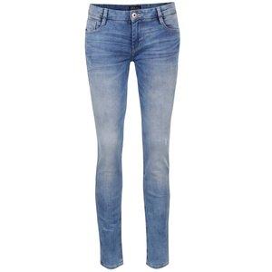 Jeanși skinny albastru deschis cu aspect prespălat Cars Gaby