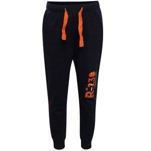 Pantaloni sport bleumarin 5.10.15. cu detalii portocalii pentru băieți