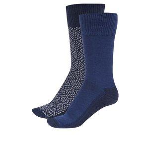 Set de 2 perechi de șosete albastre Levi's