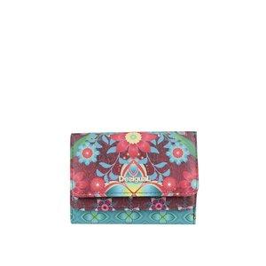Portofel multicolor cu imprimeu floral Desigual Mix Kaitlin de la Zoot.ro