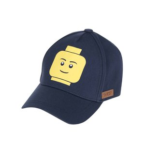 Șapcă albastru închis LEGO Wear Carlos din bumbac cu print