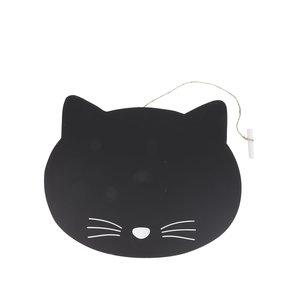 Placă de scris Sass & Belle în formă de pisică