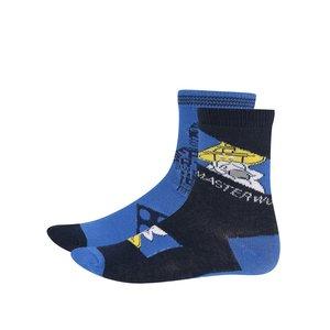 Set de 2 perechi de șosete albastre LEGO Wear Ayan cu imprimeu pentru băieți