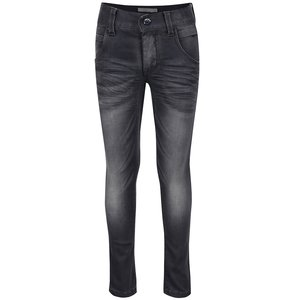 Jeanși gri închis cu aspect prespălat name it Clas pentru fete