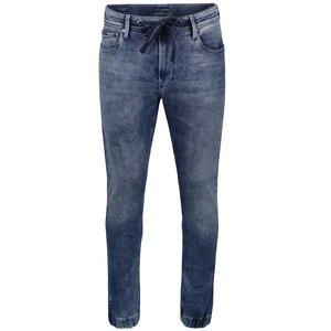 Jeanși albaștri cu șnur în talie Pepe Jeans Sprint