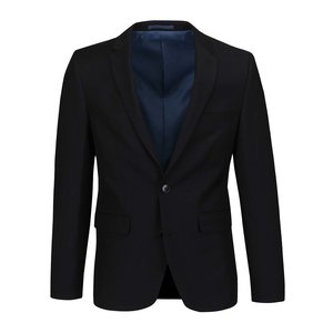 Sacou negru Burton Menswear London slim fit