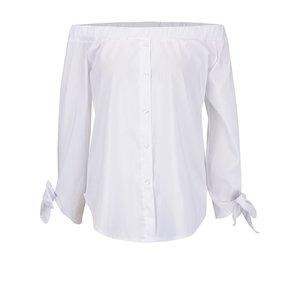 Bluză albă Madonna Mona fără umeri