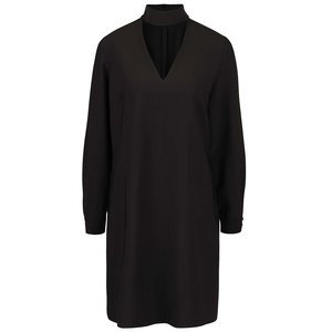 Rochie neagră Closet cu guler înalt