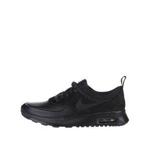 Pantofi sport negri Nike Air Max Thea Premium cu detaliu din blană sintetică pentru femei de la Zoot.ro