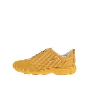 Pantofi sport galbeni Geox Nebula G cu detalii din piele întoarsă de la Zoot.ro