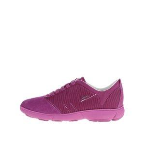 Pantofi sport violet Geox Nebula G cu detalii din piele întoarsă de la Zoot.ro