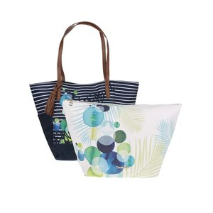 Set 2 Genti Shopper Desigual Orlando Ivyblue