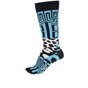 Șosete negre Happy Socks Iris Apfel Block Geo de la Zoot.ro