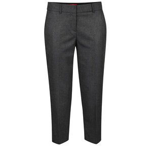 Pantaloni gri melanj închis s.Oliver pentru femei de la Zoot.ro