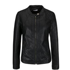 Jachetă neagră Jacqueline de Yong Lesley din piele ecologică de la Zoot.ro