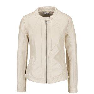 Jachetă crem Jacqueline de Yong Lesley din piele ecologică de la Zoot.ro