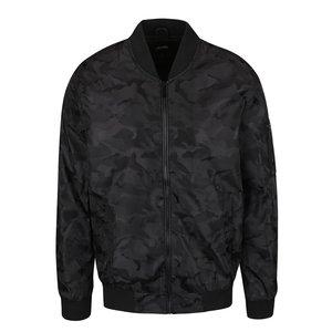 Jacheta Bomber Neagra Burton Menswear London Cu Mo