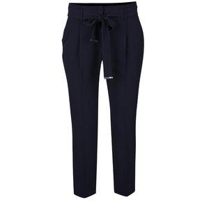 Pantaloni conici albastru ultramarin Dorothy Perkins cu cordon în talie de la Zoot.ro