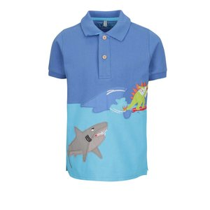 Tricou De Baieti Albastru Tom Joule Cu Print