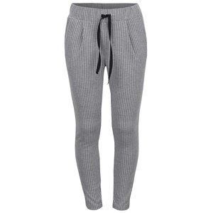 Pantaloni sport gri LIMITED by name it Jane cu model în dungi verticale pentru fete de la Zoot.ro