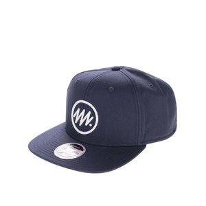 Șapcă snapback albastru închis Jack & Jones Circle din bumbac cu logo în relief de la Zoot.ro
