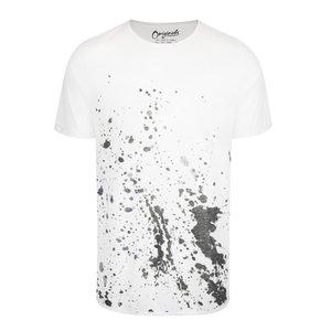 Tricou Crem Jack & Jones Splatters Cu Print